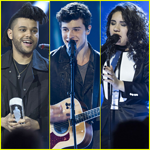 The Weeknd, Shawn Mendes & Alessia Cara Peform At Juno Awards 2016 - Watch Here!