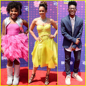 Trinitee Stokes & 'KC Undercover' Cast Arrive at RDMA 2016