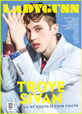 Troye Sivan Nabs 'Ladygunn' Mag Cover