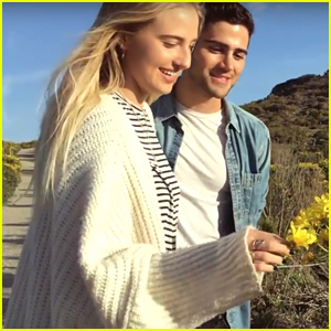 Veronica Dunne & Max Ehrich Launch YouTube Channel Together
