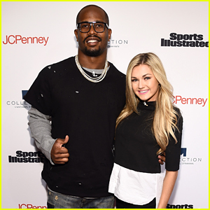 Von Miller & Lindsay Arnold Hit Sports Illustrated's Fashionable 50 Event
