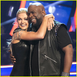 Lindsay Arnold & Wanya Morris Celebrate Their First 10's on DWTS