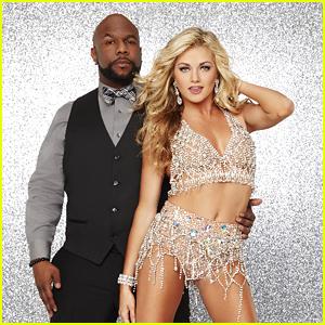 Wanya Morris & Lindsay Arnold Dance To NSYNC's 'Bye Bye Bye' On DWTS' Famous Dances Night