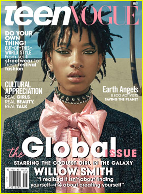 Willow Smith Covers Teen Vogue May 2016!