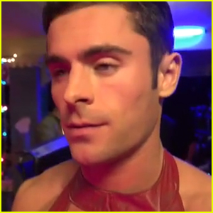 Zac Efron Rocks Dress in 'Neighbors 2' Promo Clip - Watch Now!