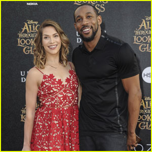 Allison Holker Makes Her First Post-Baby Carpet Appearance for 'Alice Through the Looking Glass'