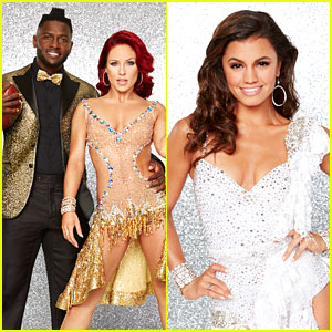 Antonio Brown & Sharna Burgess Argentine Tango with Hayley Erbert For DWTS Trio Dance (Video)