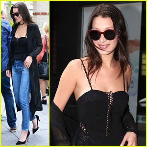 Bella Hadid Hangs With Friends After Australian Arrival
