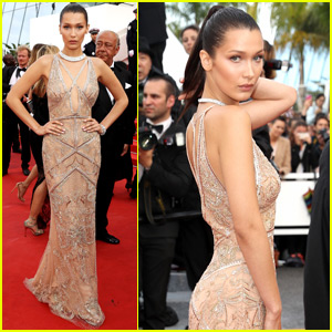 Bella Hadid Stuns at Cannes 2016 Opening Premiere!