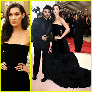 Bella Hadid & The Weeknd Couple Up at Met Gala 2016