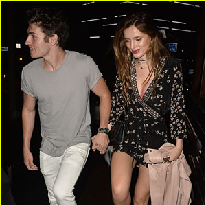 Gregg Sulkin Celebrates 24th Birthday Early with Bella Thorne & Friends