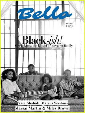 Yara Shahidi, Marcus Scribner, Miles Brown & Marsai Martin Talk 'black-ish' with 'Bello' Mag
