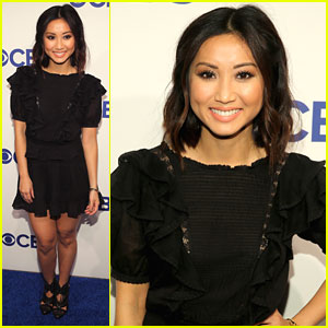 Brenda Song Hits CBS Upfronts With 'Pure Genius' Cast