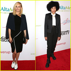 Candice King Attends First Red Carpet Event Since Welcoming Baby Florence
