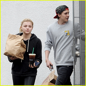 Chloe Moretz & Brooklyn Beckham Keep it Casual for Lunch