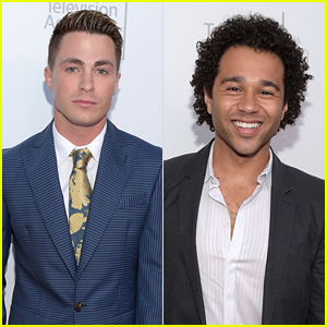 Colton Haynes Joins Corbin Bleu for College TV Awards
