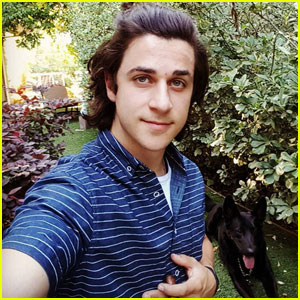 David Henrie Explains Why His Hair is So Long!