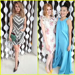 Debby Ryan Hits Wolk Morais Fashion Show in WeHo
