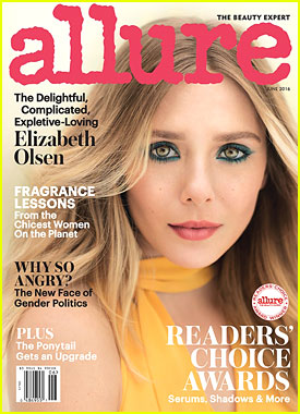 Elizabeth Olsen Stuns on June 2016 Cover of 'Allure' Mag