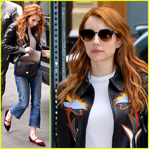 Emma Roberts Shows Off Her City Style in NYC