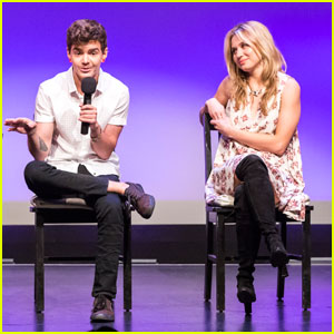 Rita Volk & 'Faking It' Co-Stars Attend LGBT Center Screening
