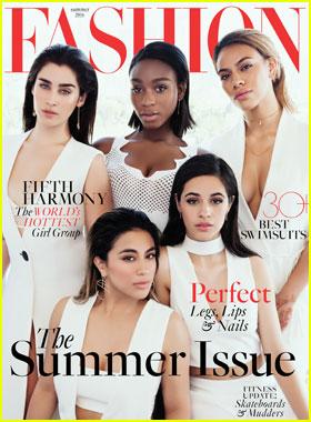 Fifth Harmony Talk Feminism & Self-Acceptance for 'Fashion' Magazine Cover