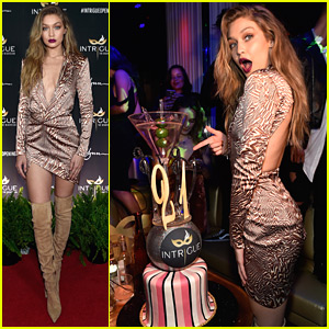 Gigi Hadid Parties It Up in Vegas For 21st Birthday