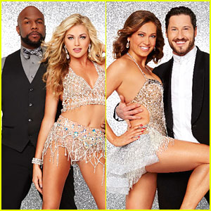 Wanya Morris & Ginger Zee Wow With Judge's Team Challenge on DWTS (Video)