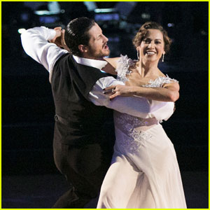 Val Chmerkovskiy Says 'DWTS' Partner Ginger Zee is Stunning Inside & Out