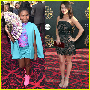 Trinitee Stokes Designed Her Own Outfit for 'Alice Through The Looking Glass' Premiere!