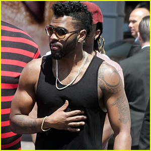 Jason Derulo Hangs Out at Cannes 2016