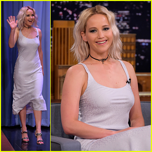 Jennifer Lawrence Joins Jimmy Fallon for 'Tonight Show'