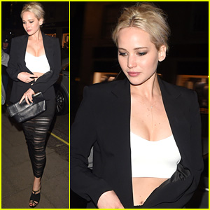 Jennifer Lawrence Has a Night Out in London!