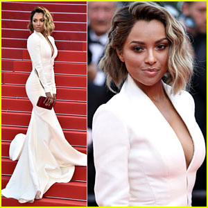Kat Graham Wows With Magical Dress at 'Last Face' Premiere in Cannes