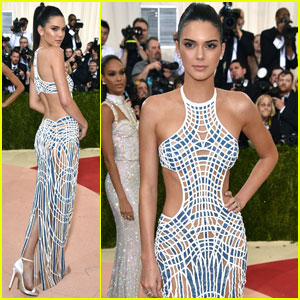 Kendall Jenner is a Versace Goddess at Met Gala 2016