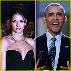 Kendall Jenner Met President Obama & He Asked About Kim & Kanye