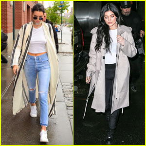 Kendall & Kylie Jenner Grab Dinner Together Before Met Gala 2016