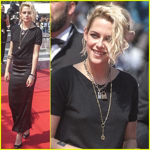 Kristen Stewart Brings Alicia Cargile To 'American Honey' Cannes Premiere