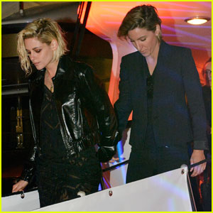 Kristen Stewart Holds Hands With Alicia Cargile at Cannes 2016 Party