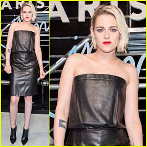 Kristen Stewart Rocks a Leather Dress for Chanel in China!