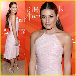 Lea Michele Honored At Step Up Women Network's Inspiration Awards 2016