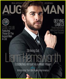 Liam Hemsworth Lands June 2016 Cover of 'August Man' Magazine (Exclusive)