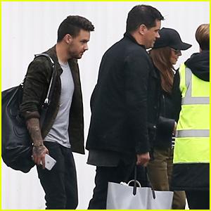 Liam Payne Catches Flight to Cannes With Cheryl Fernandez-Versini