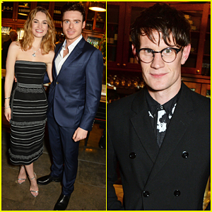 Lily James Gets Support From Boyfriend Matt Smith At 'Romeo & Juliet' After Party!