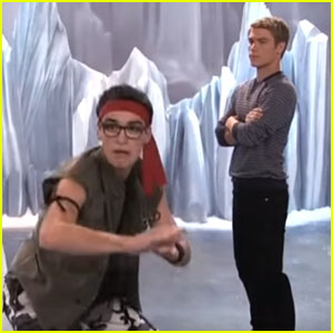 Joey Gets A Part on 'Voltage' On Tonight's 'Liv & Maddie'