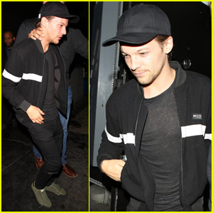 Louis Tomlinson Grabs Dinner at the Nice Guy