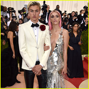 Lucky Blue Smith Takes Sister Pyper America To Met Gala 2016