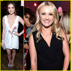 Lucy Hale Wows at Nylon's Young Hollywood Party After PLL Trailer Debuts