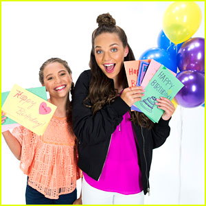 Maddie Ziegler & Sis Mackenzie Team Up With DoSomething For Birthday Mail Campaign