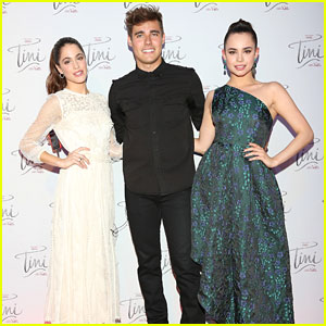 Sofia Carson Joins Martina Stoessel at 'Tini' Premiere in Mexico